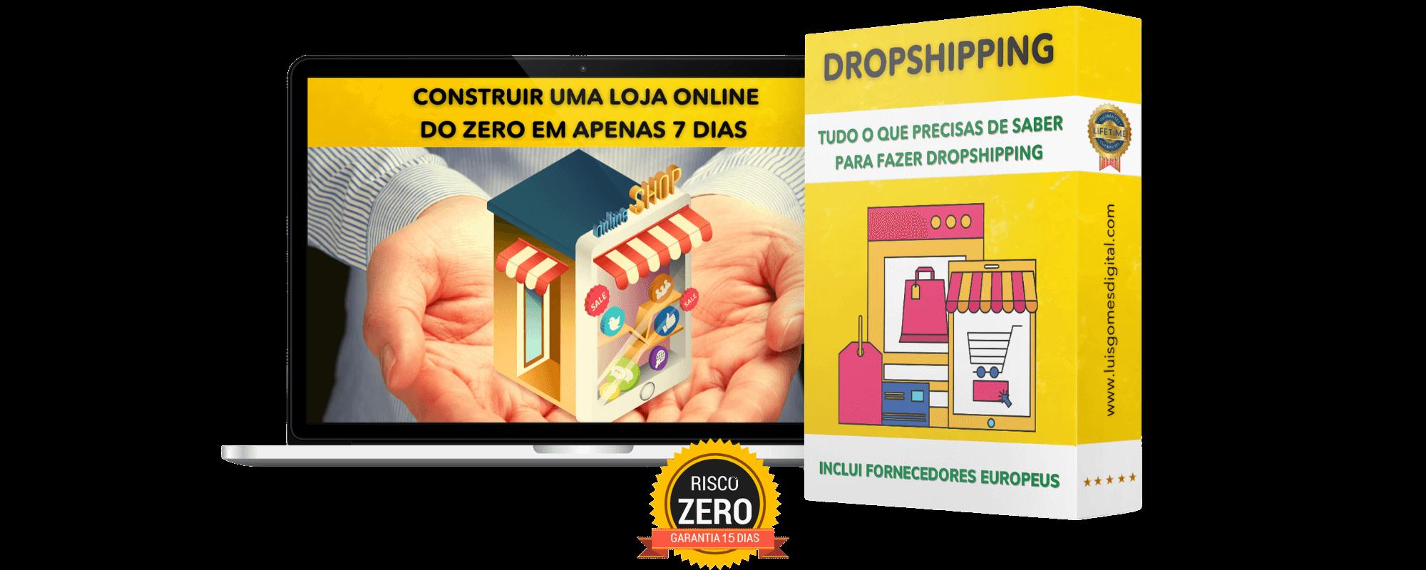 Curso online sobre e-commerce e dropshipping
